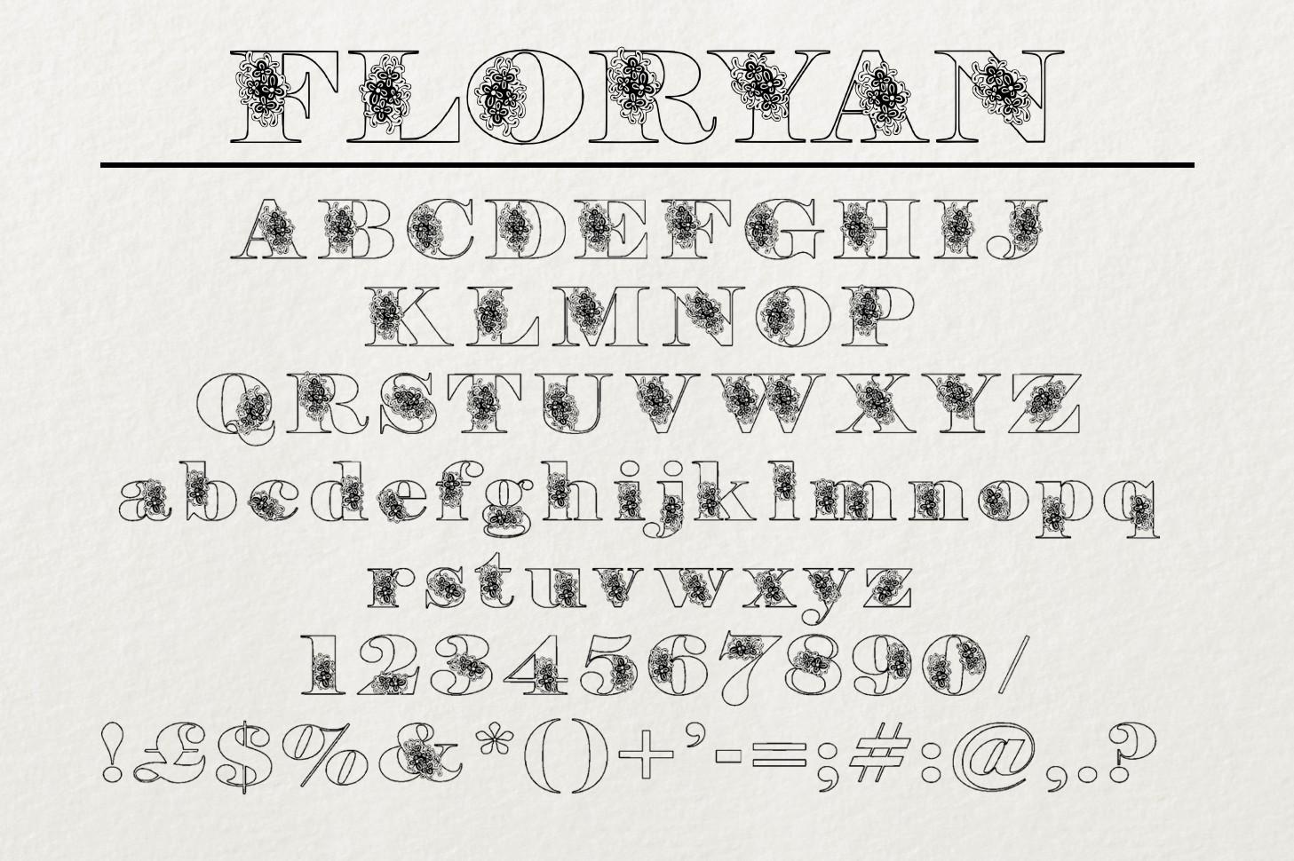 Floryan Font example image 4