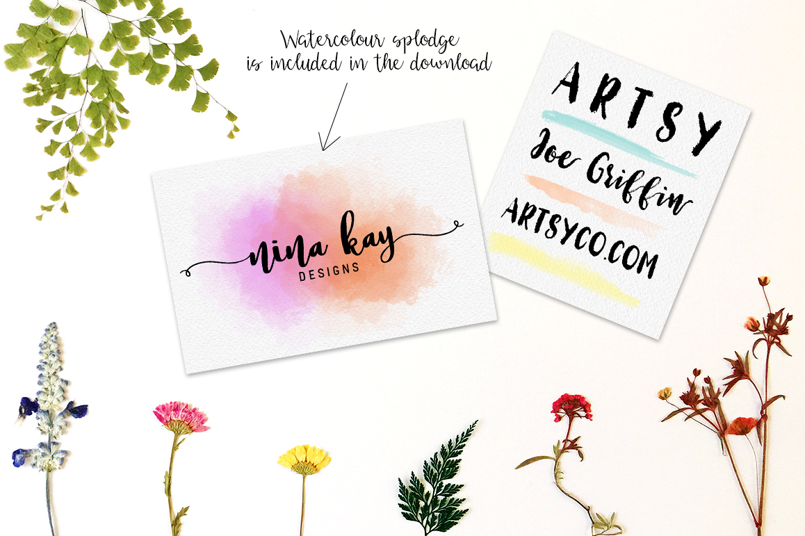 Lucky Dip Hand Lettered Font Bundle example image 6