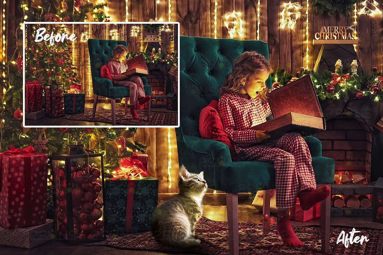 67 Christmas, overlays, photoshop PNG backdrop snow globe example image 9