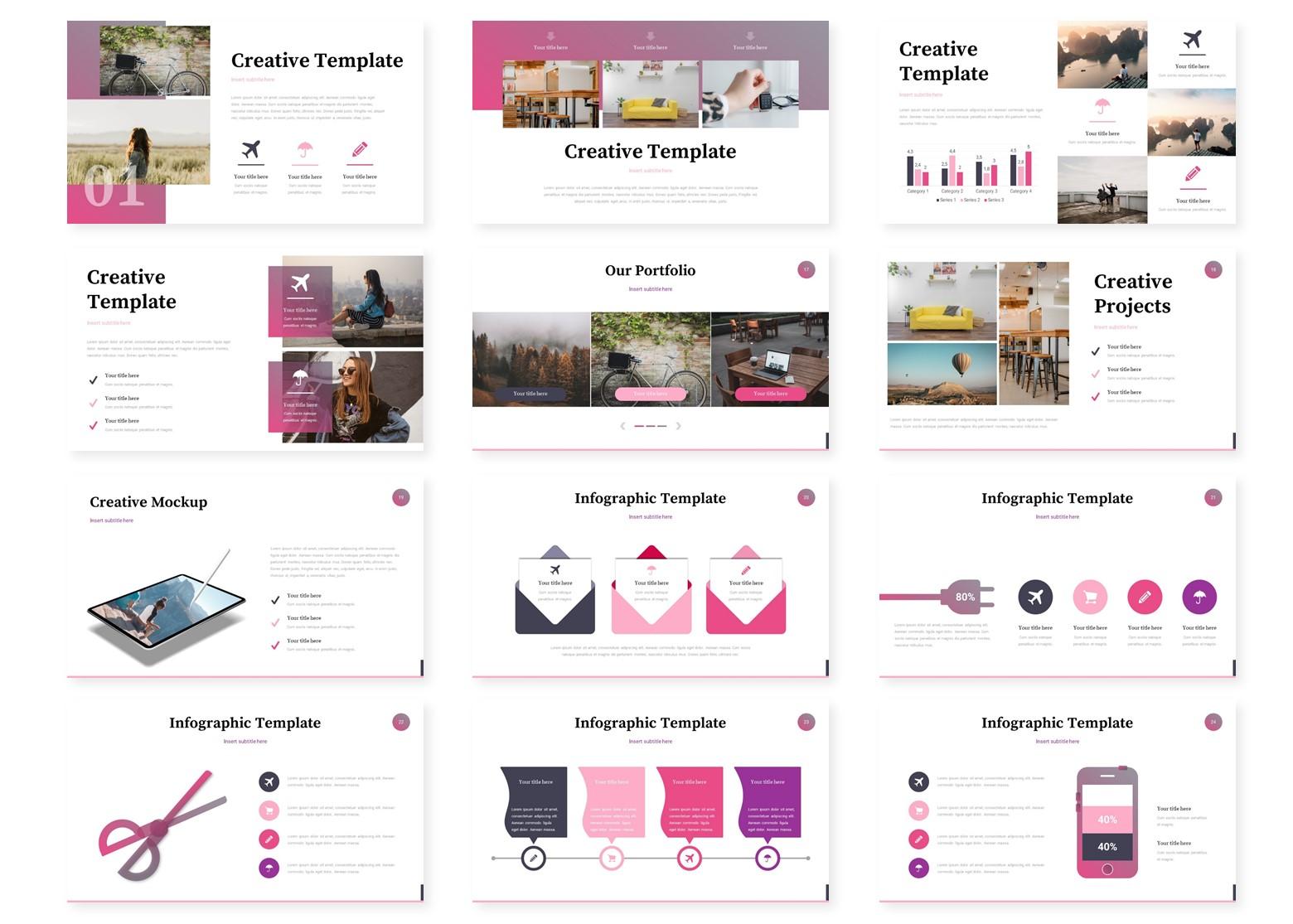 Dirgaro - Google Slides Template