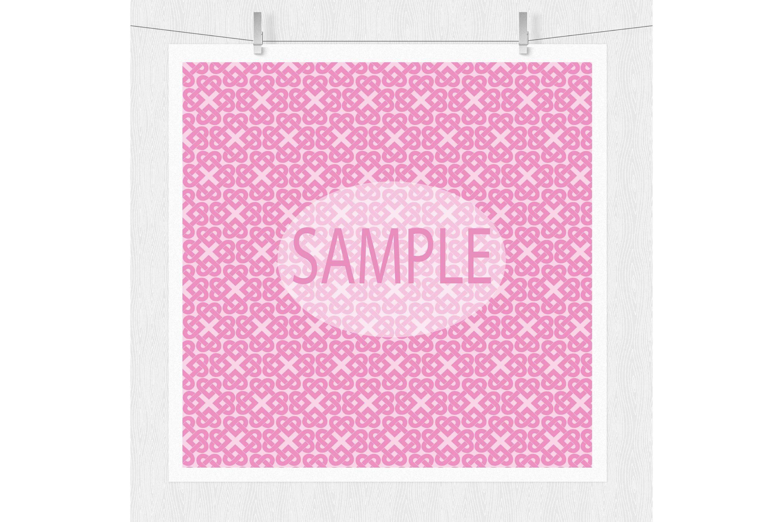 Pink Valentine Digital Paper example image 4