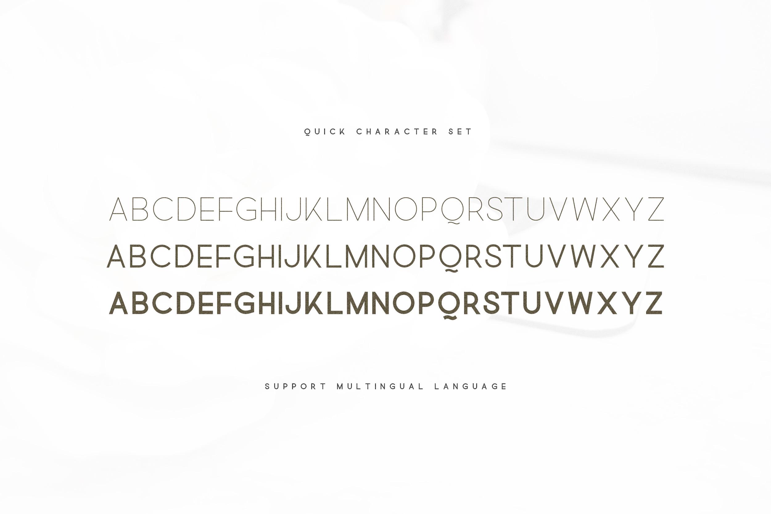 Quick - An Elegant Sans Serif example image 3