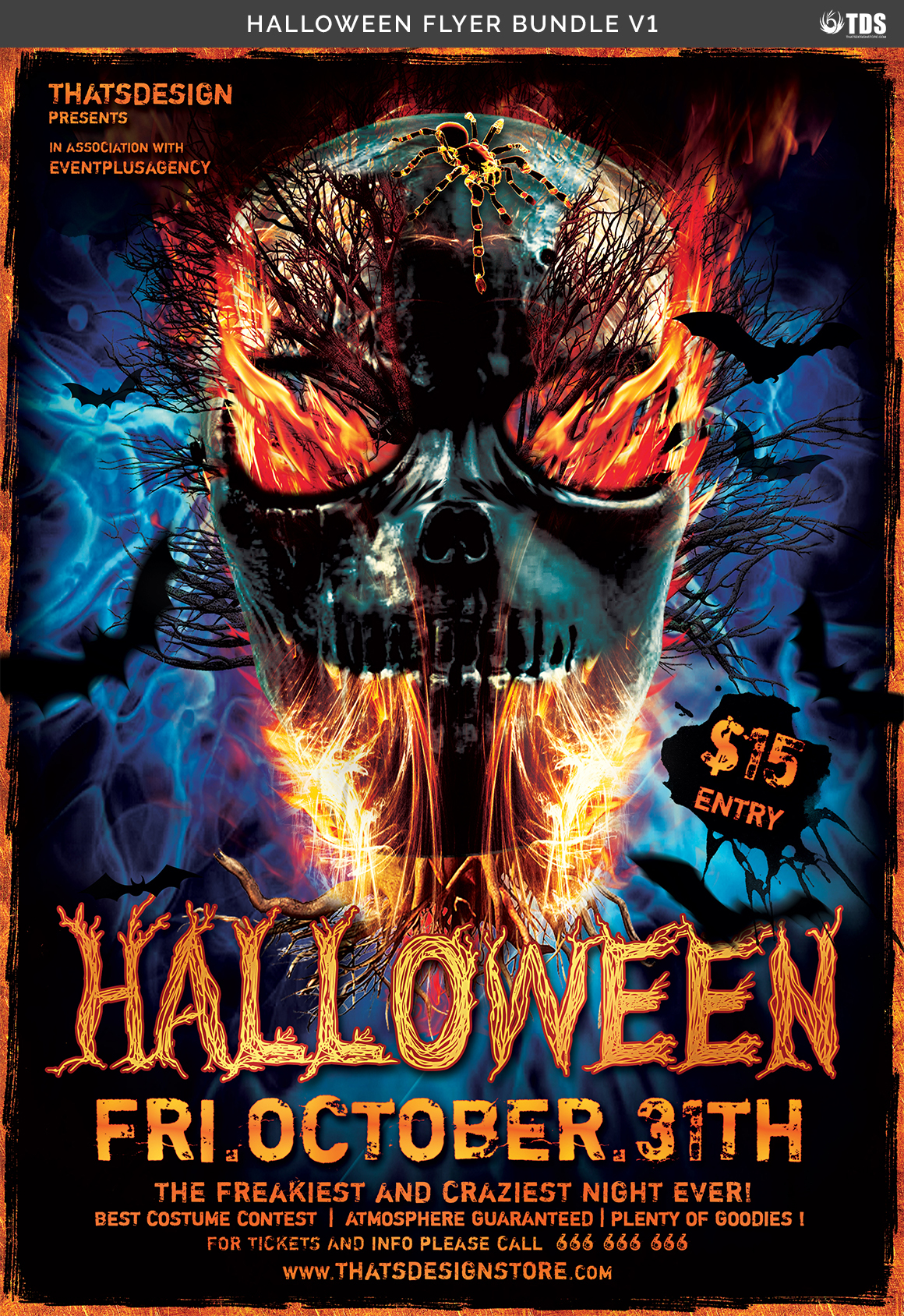 halloween flyer bundle v1