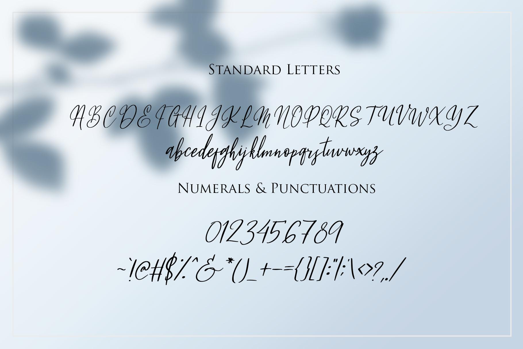 Fleur Bleue - Beautiful Romantic Font example image 7