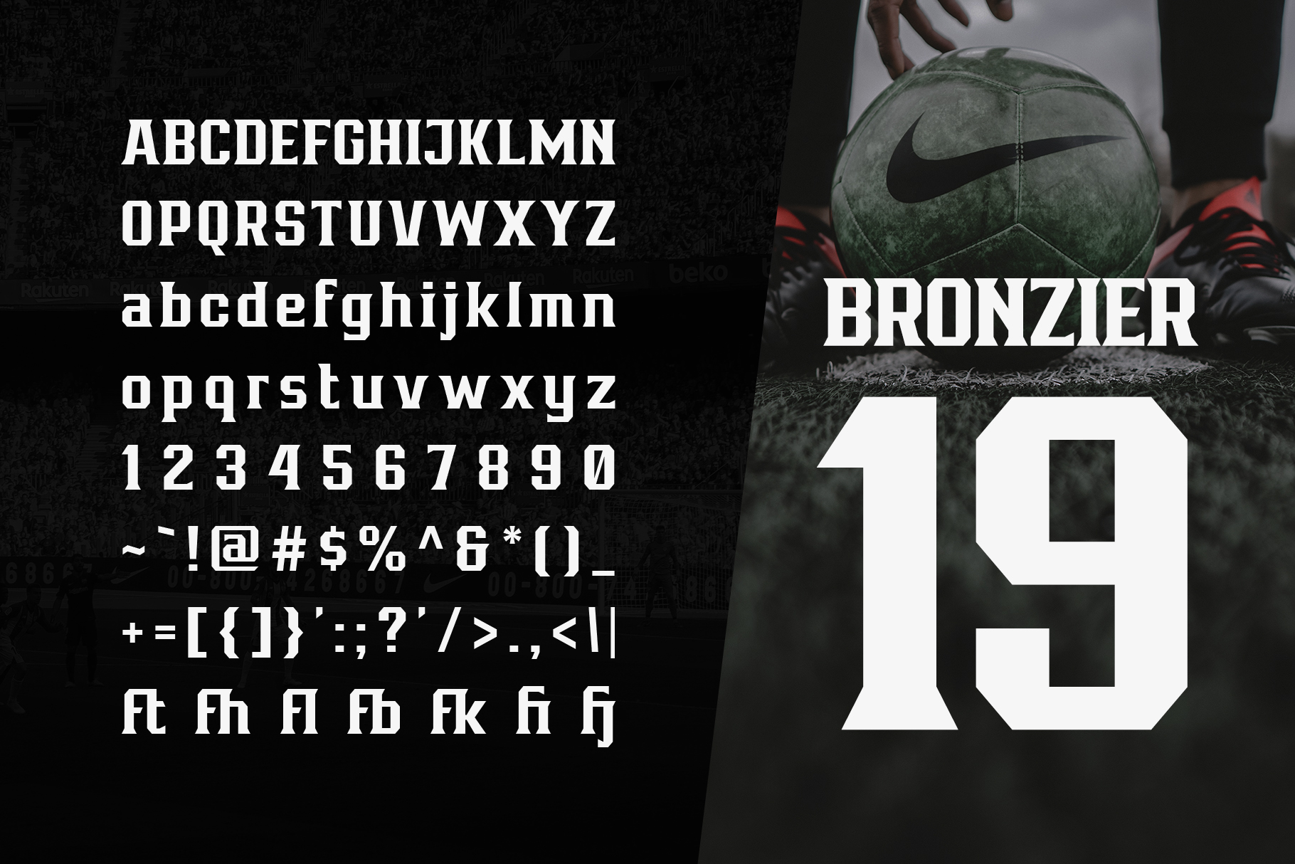 Bronzier Font Family example image 6
