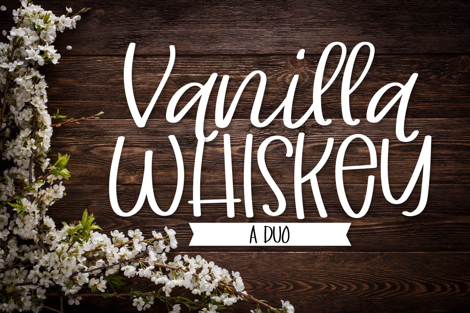 Vanilla Whiskey - A Duo Script & Print Set example image 1