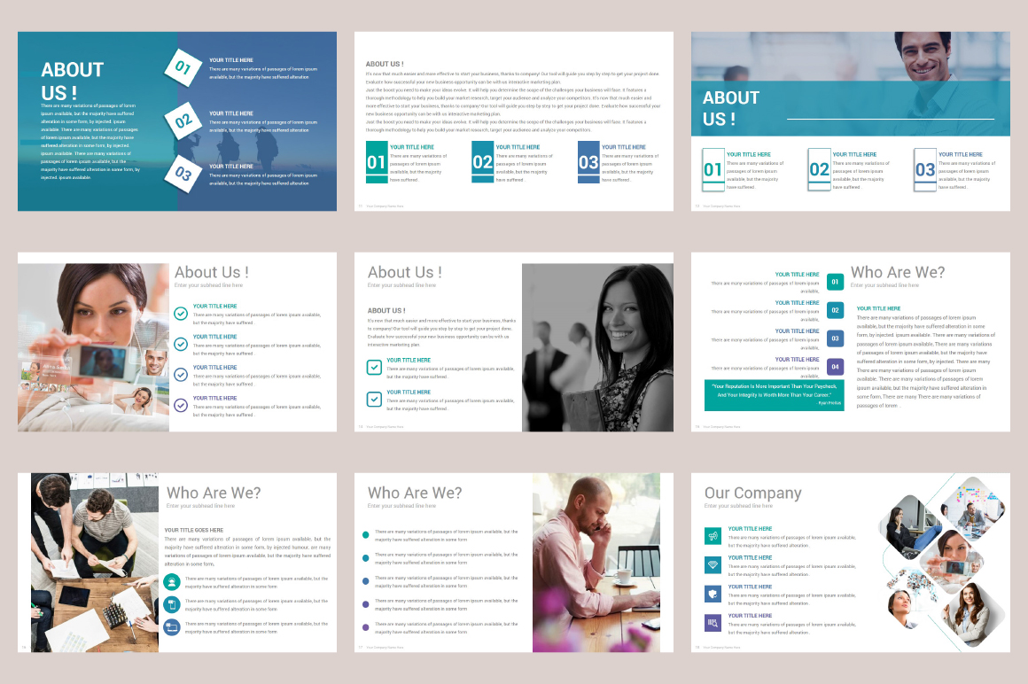 Zagros Keynote Template example image 6