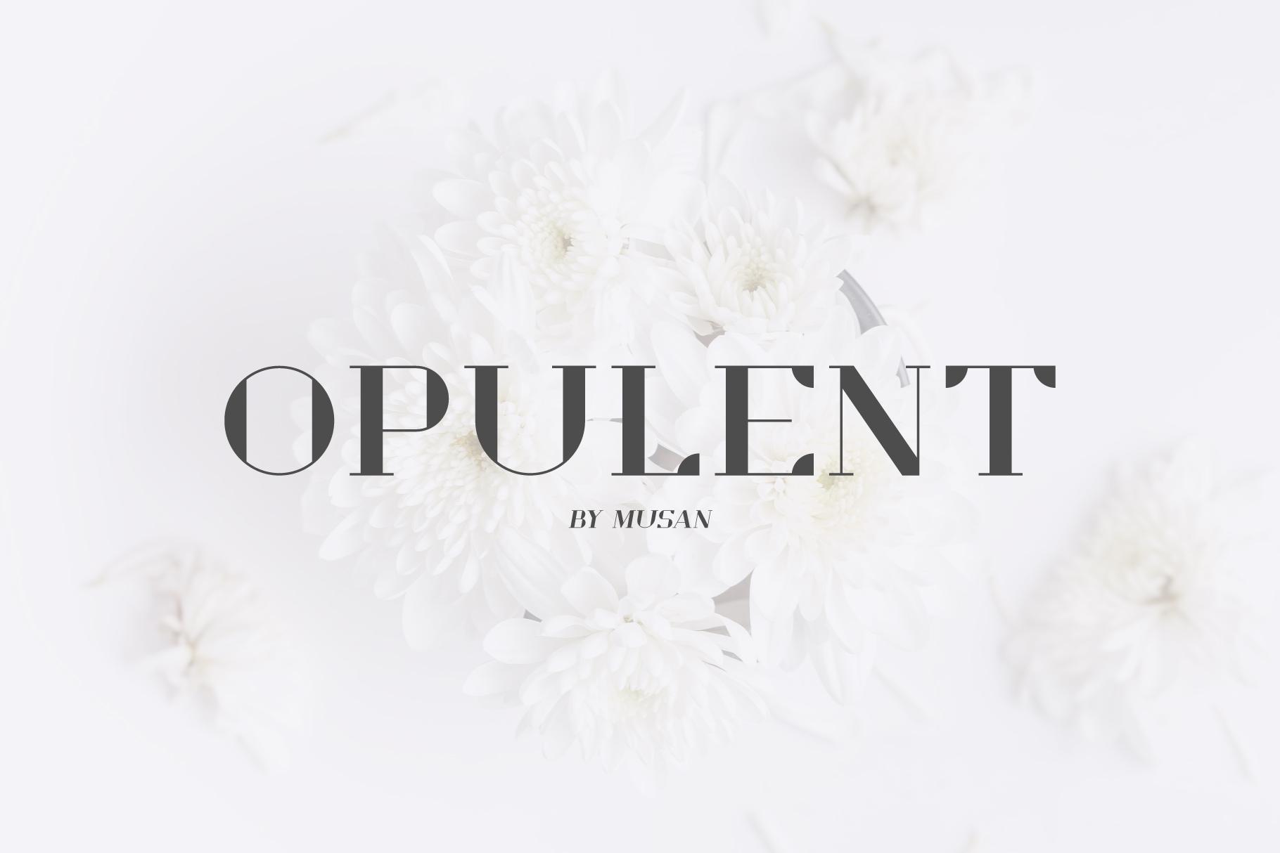 Opulent example image 1