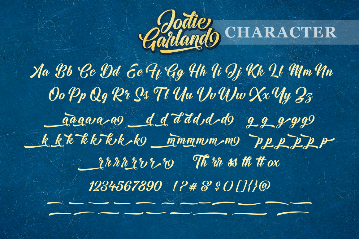 Jodie Garland Script example image 11