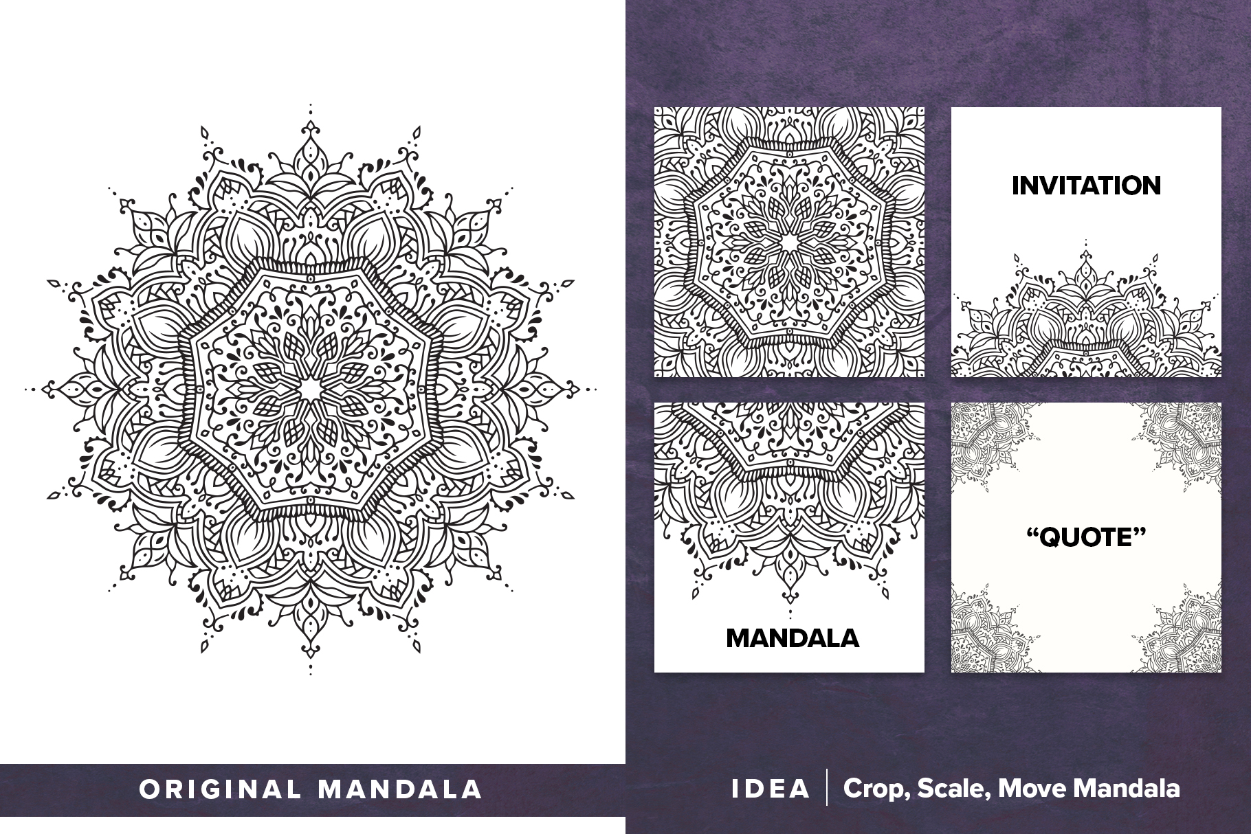 530 Vector Mandala Ornaments Bundle example image 11