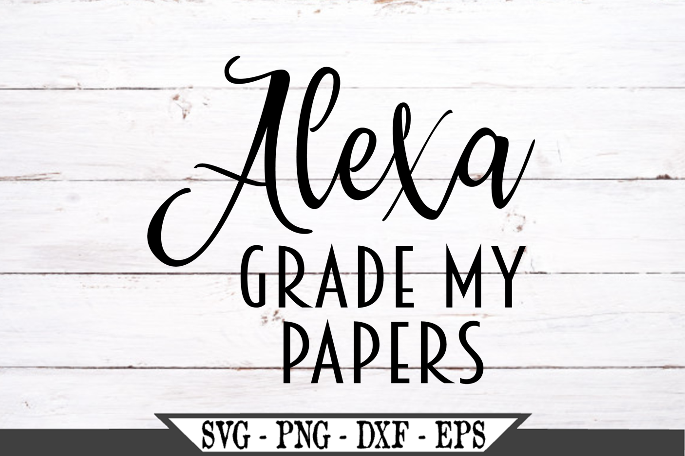 Alexa Grade My Papers SVG example image 2