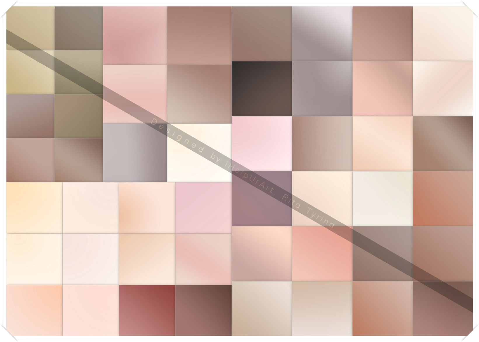 50 Mute Colors Gradient Baclrounds Pack example image 6