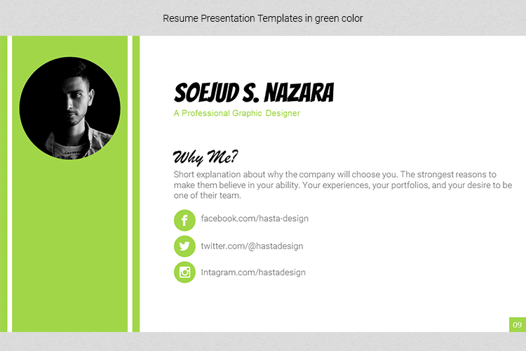 A4 Resume Templates Word example image 17