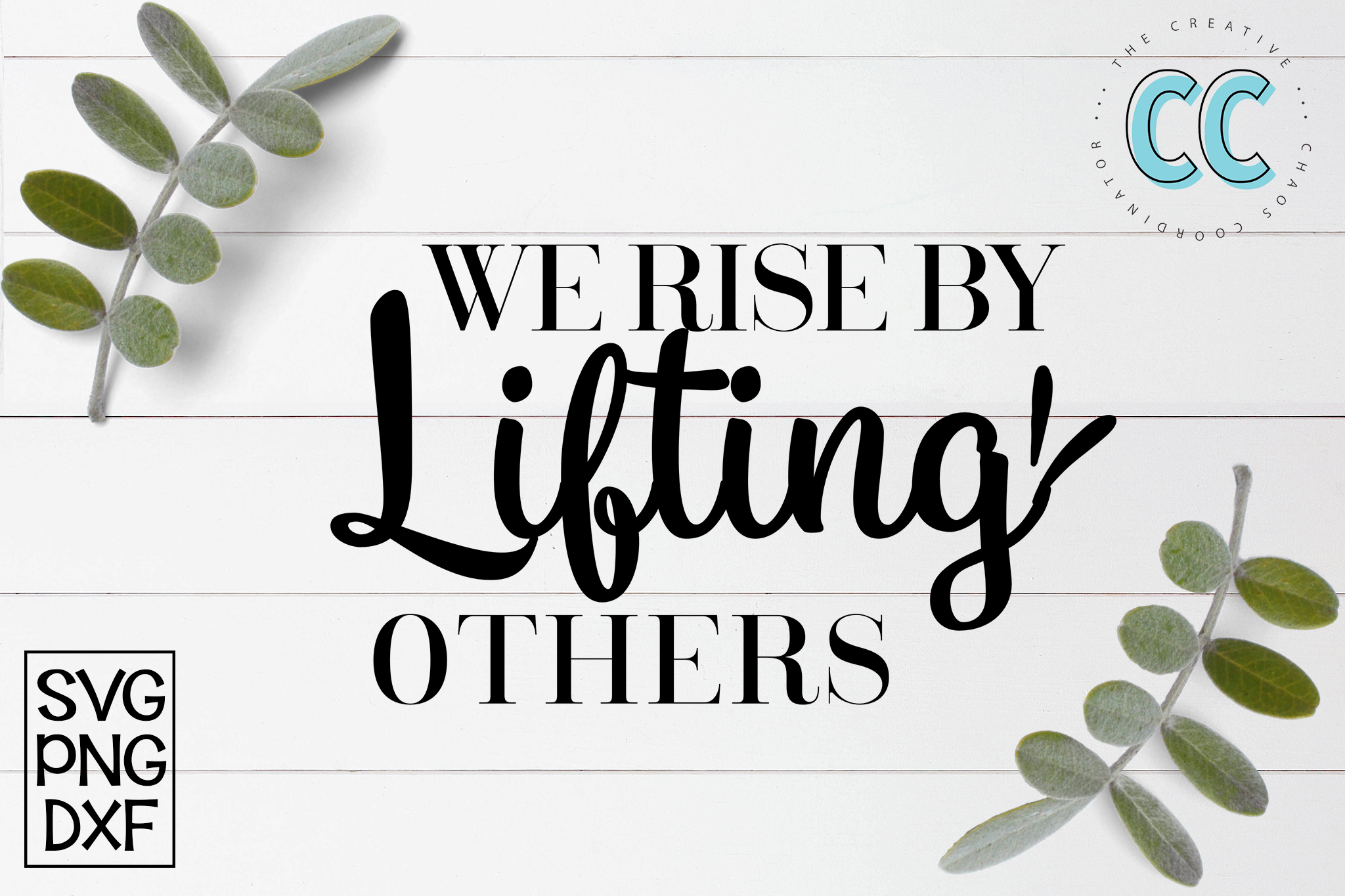We Rise By Lifting Others example image 1