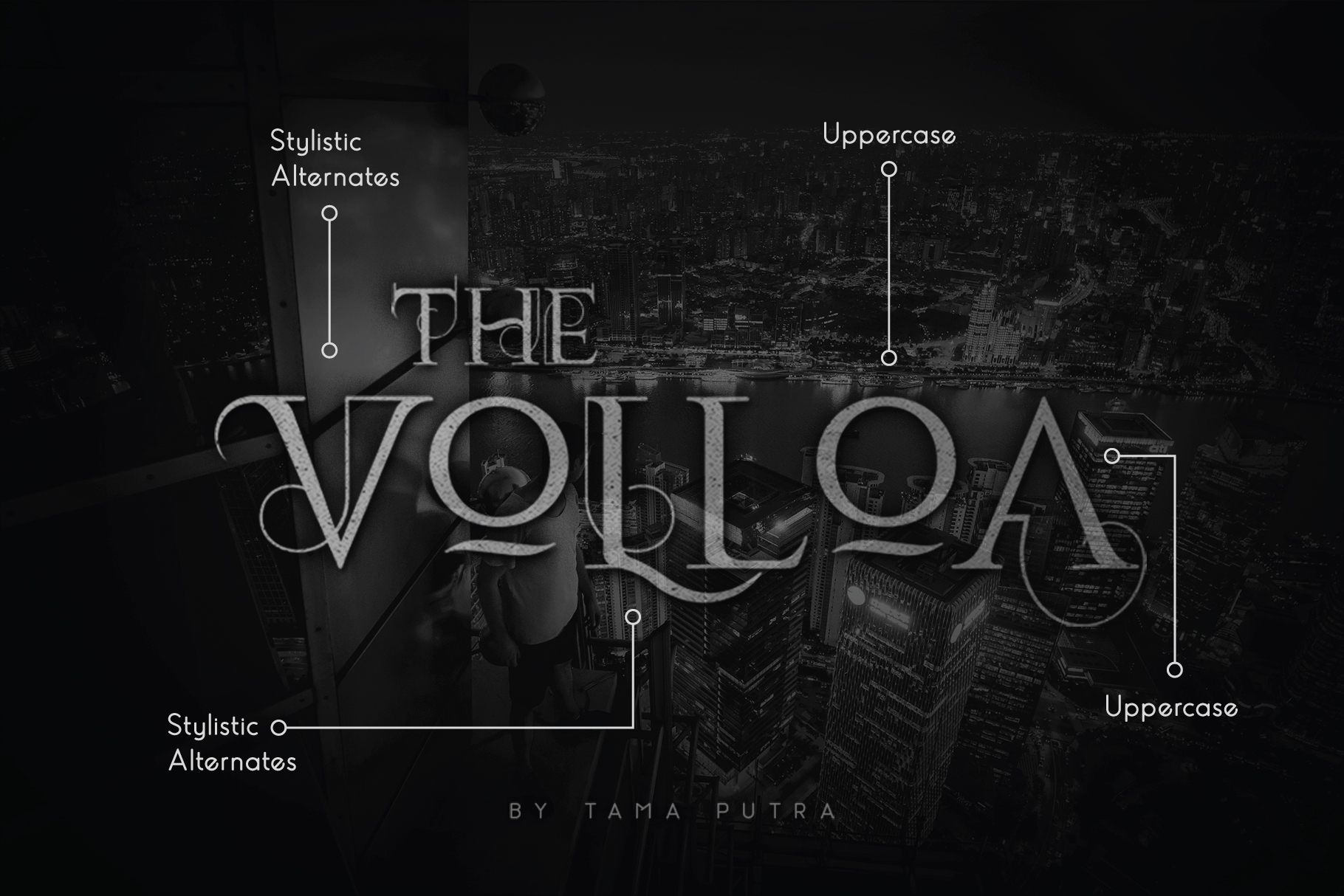 Volloa Decorative Serif Typeface example image 1