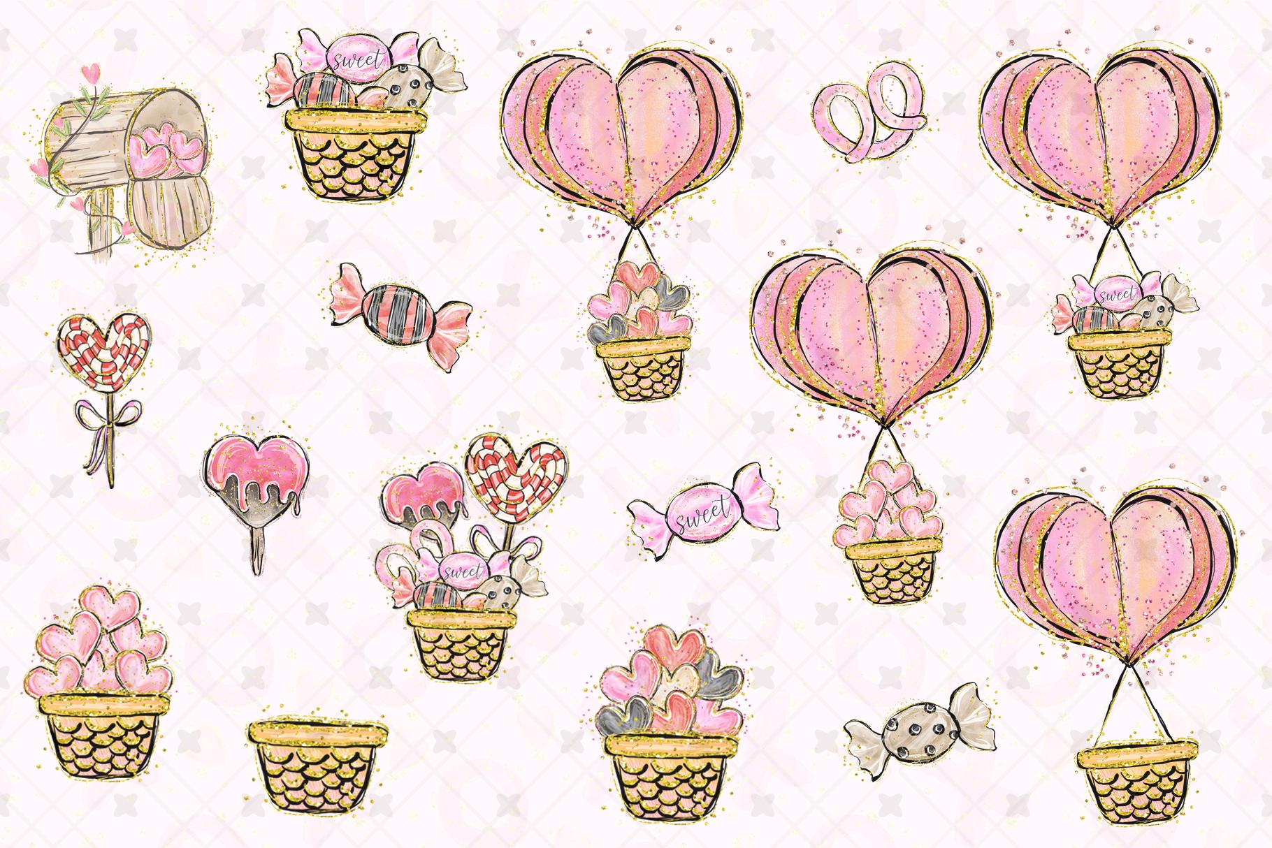 Valentine's clip art example image 4