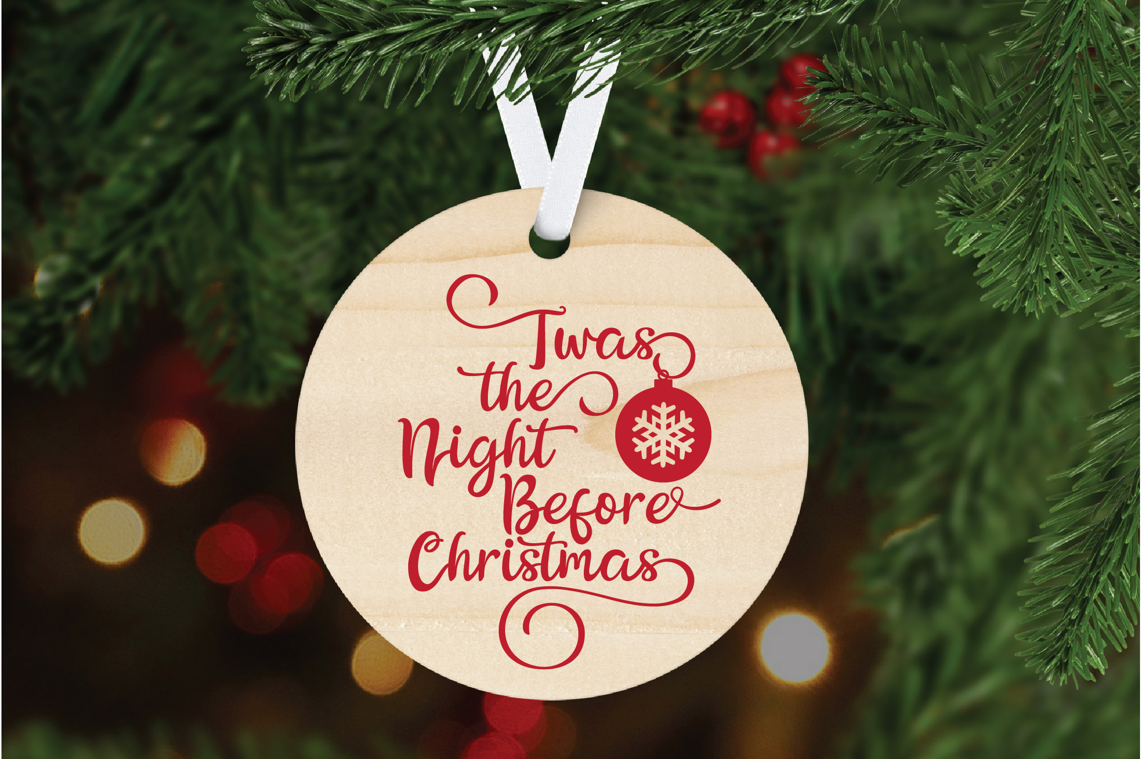 Christmas SVG Cut File - The Night Before Christmas SVG DXF example image 6