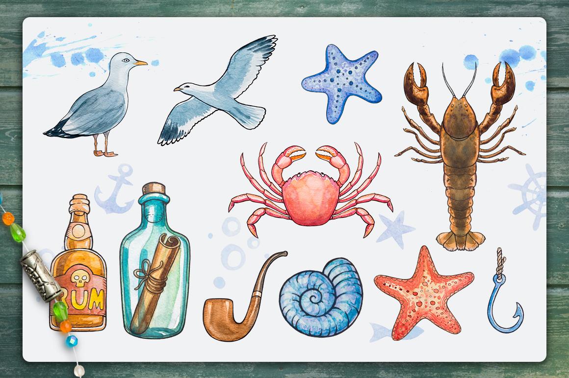 Nautical illustrations example image 3