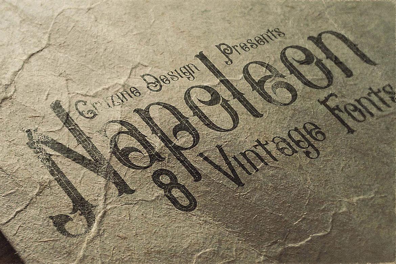 Napoleon Vintage Typeface example image 4