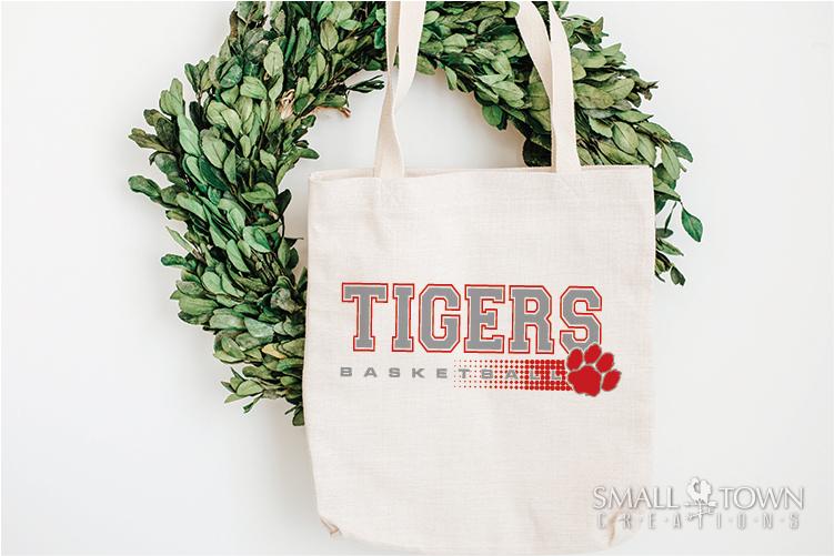 Tigers basketball, tiger mascot, team, PRINT, CUT, DESIGN example image 21