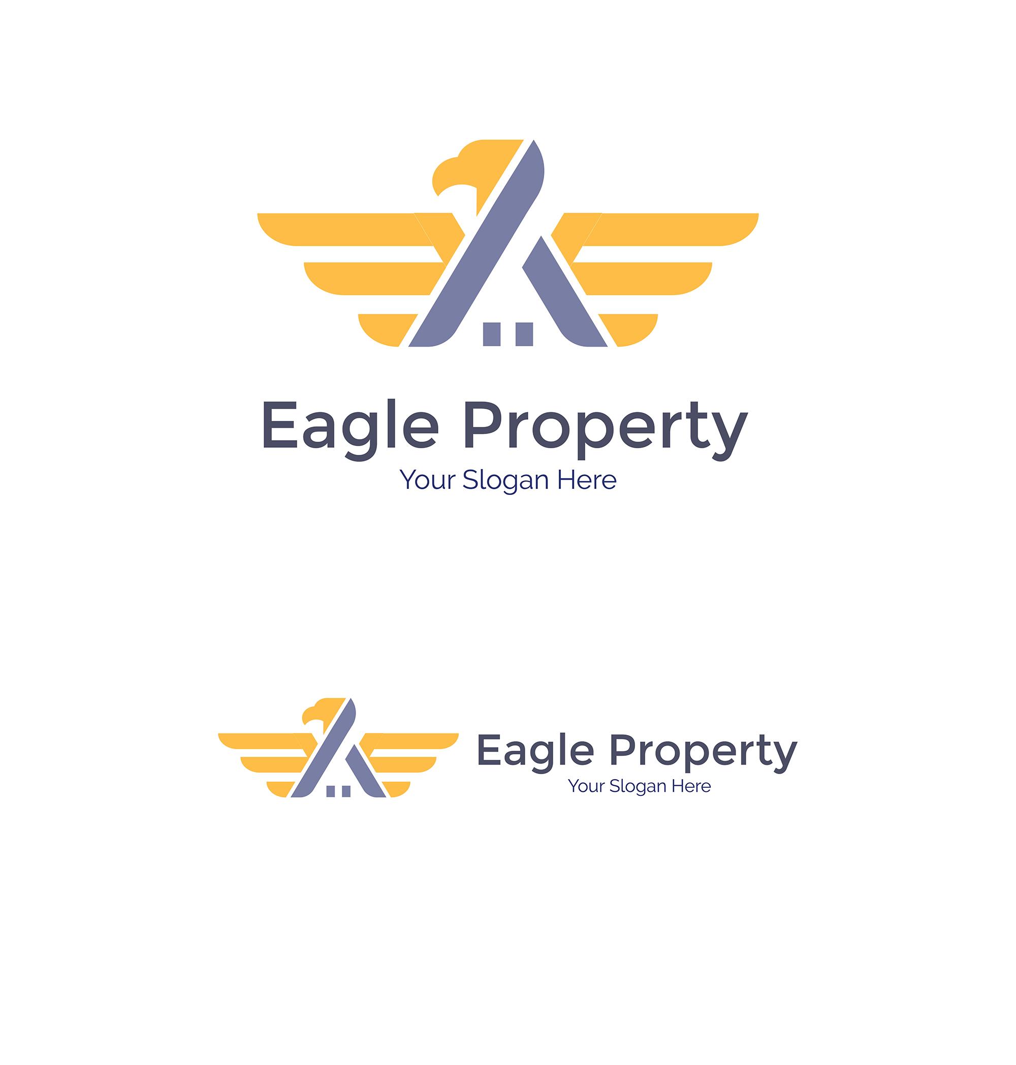 Eagle Construction Logo - Animal logo example image 7