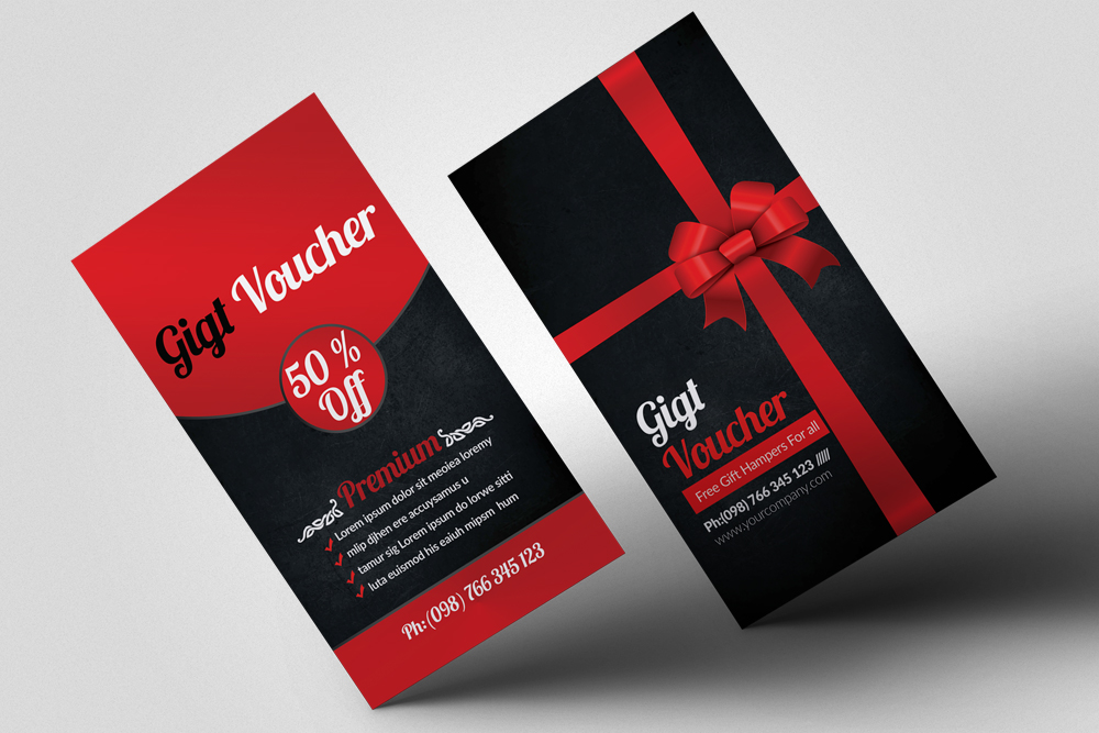 Vertical Business Gift Vouchers example image 1