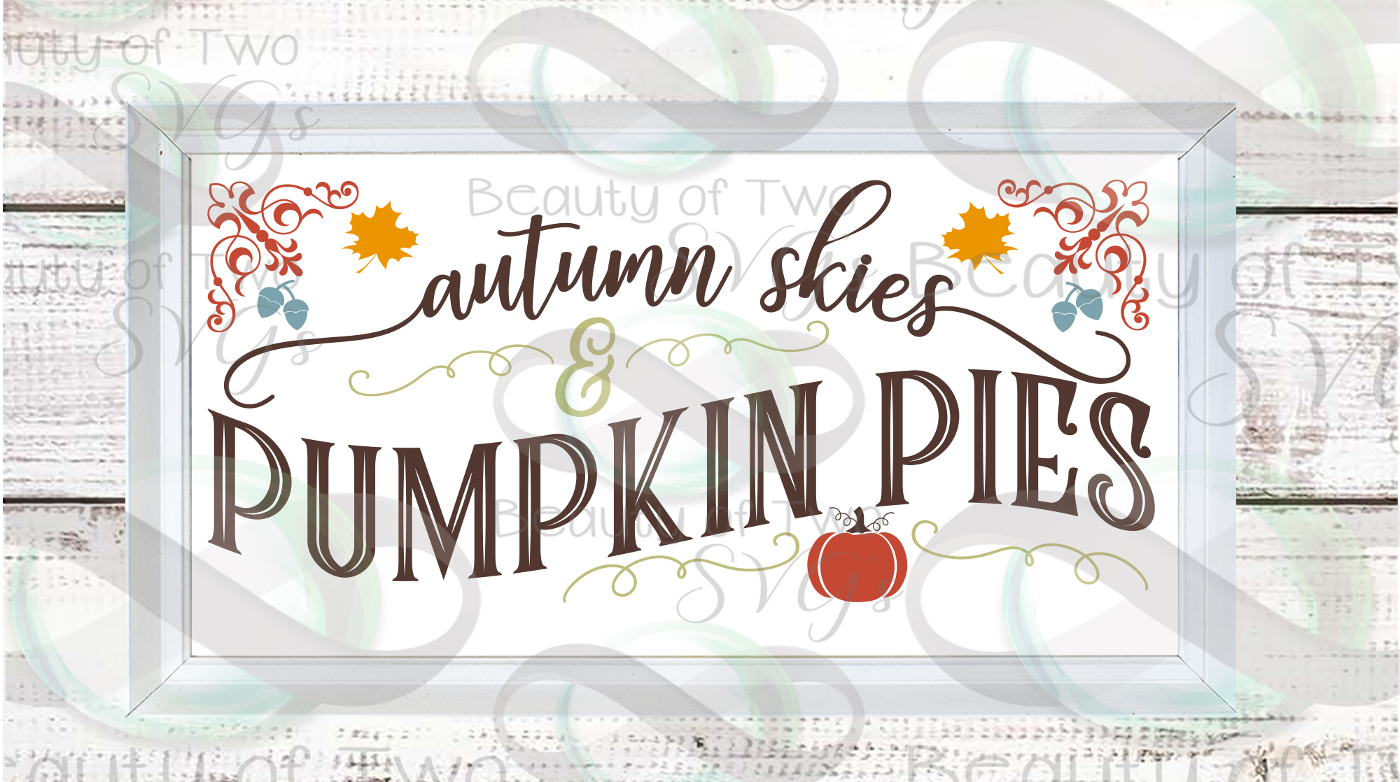 Fall svg Farmhouse Bundle Give Thanks svg, 6 Fall svg design example image 5