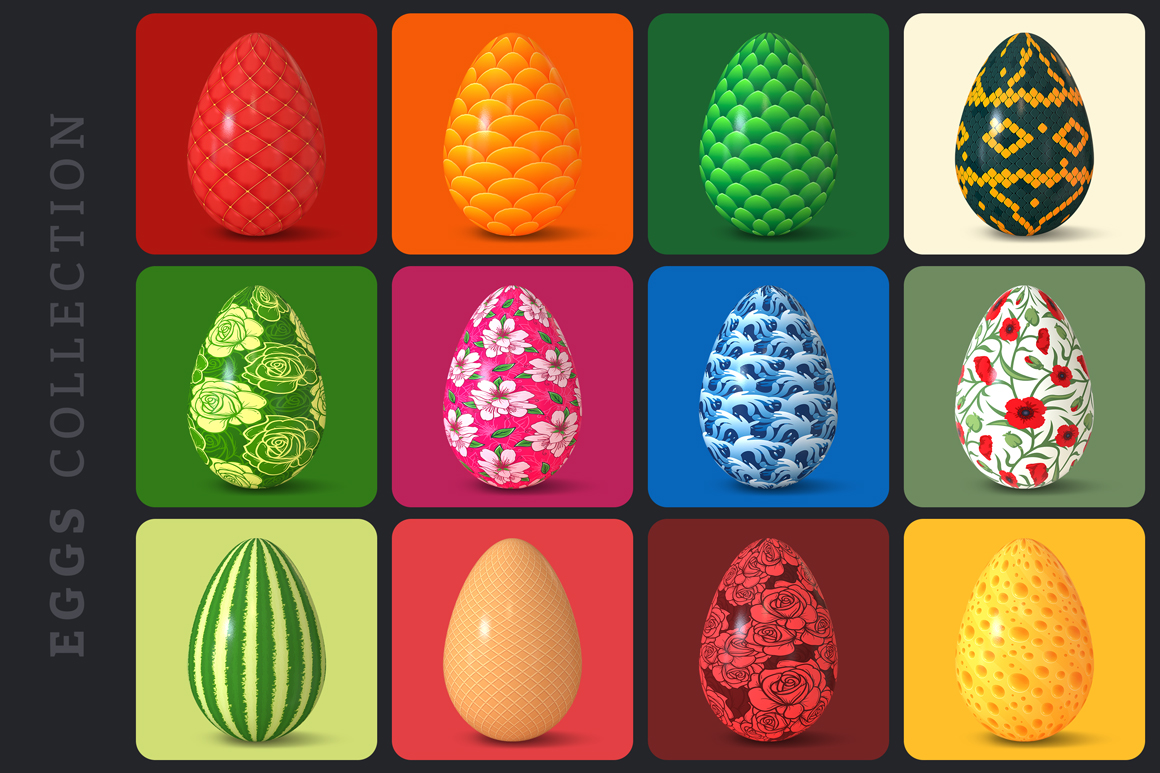 Easter Egg Mockups and Images example image 22
