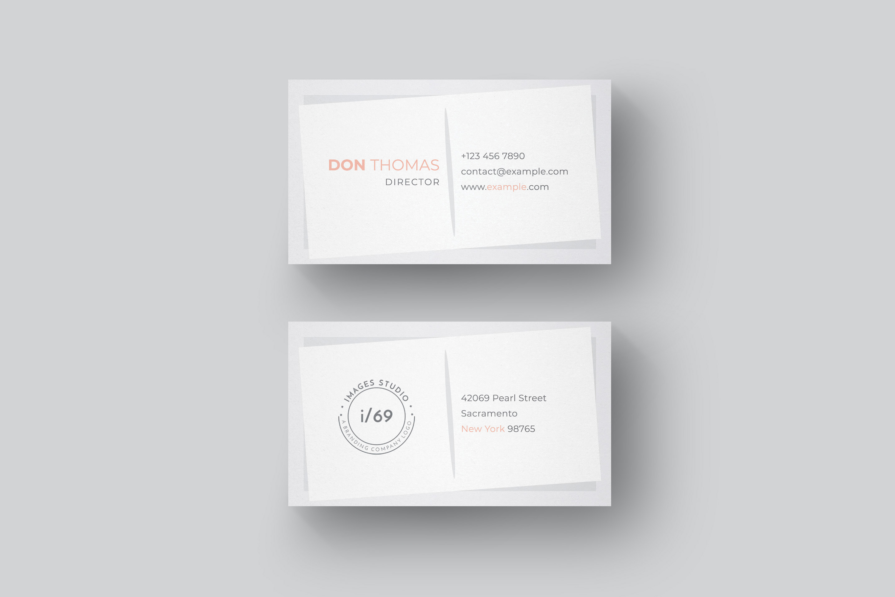 Simple Business Card example image 2