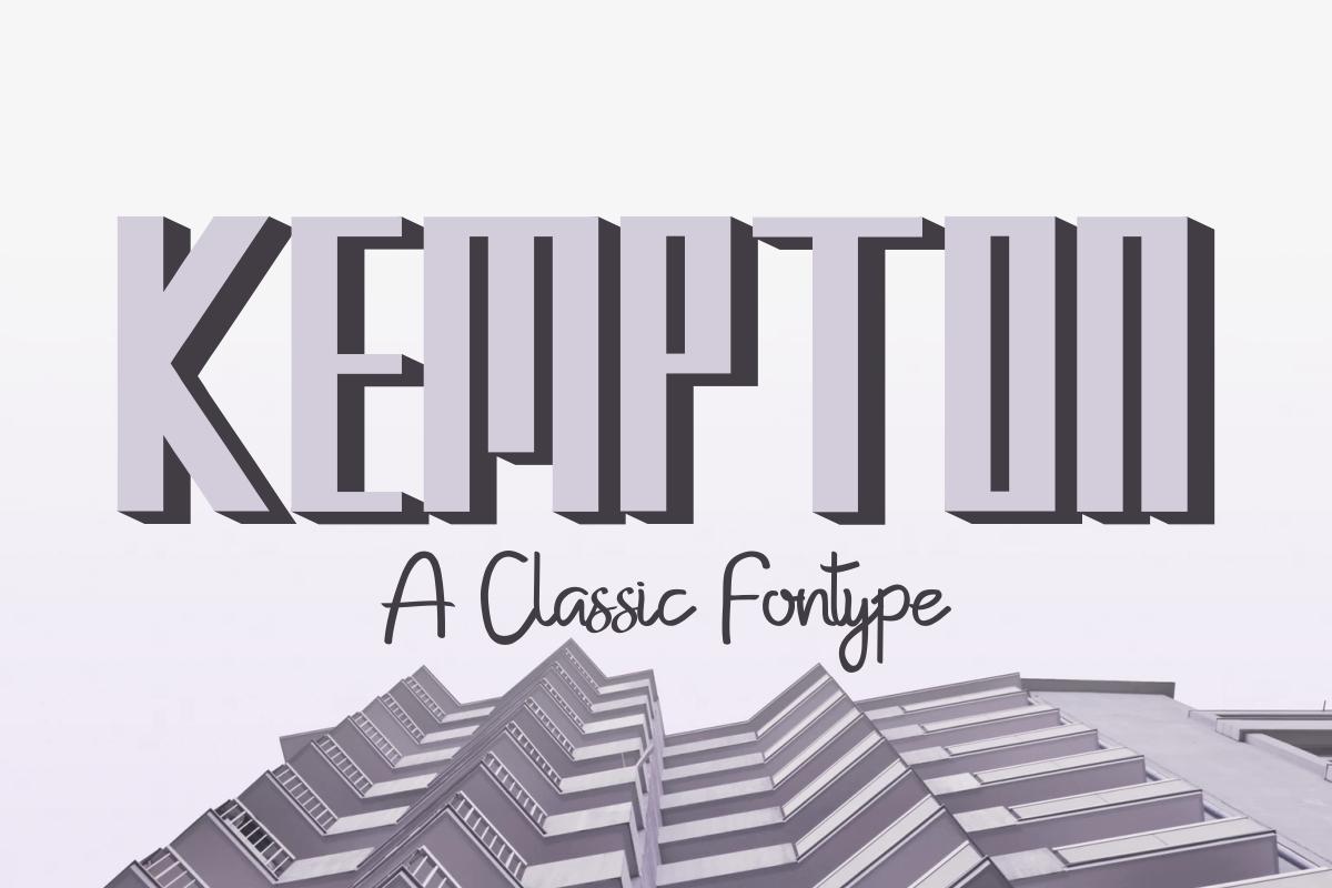 Kempton example image 2