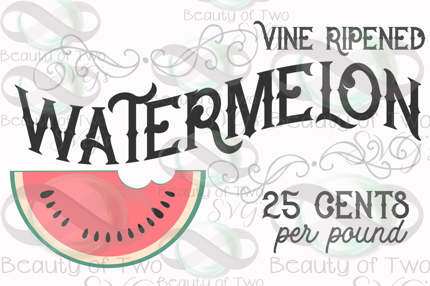 Watermelon vintage svg and png, Watermelon svg, summer svg example image 3