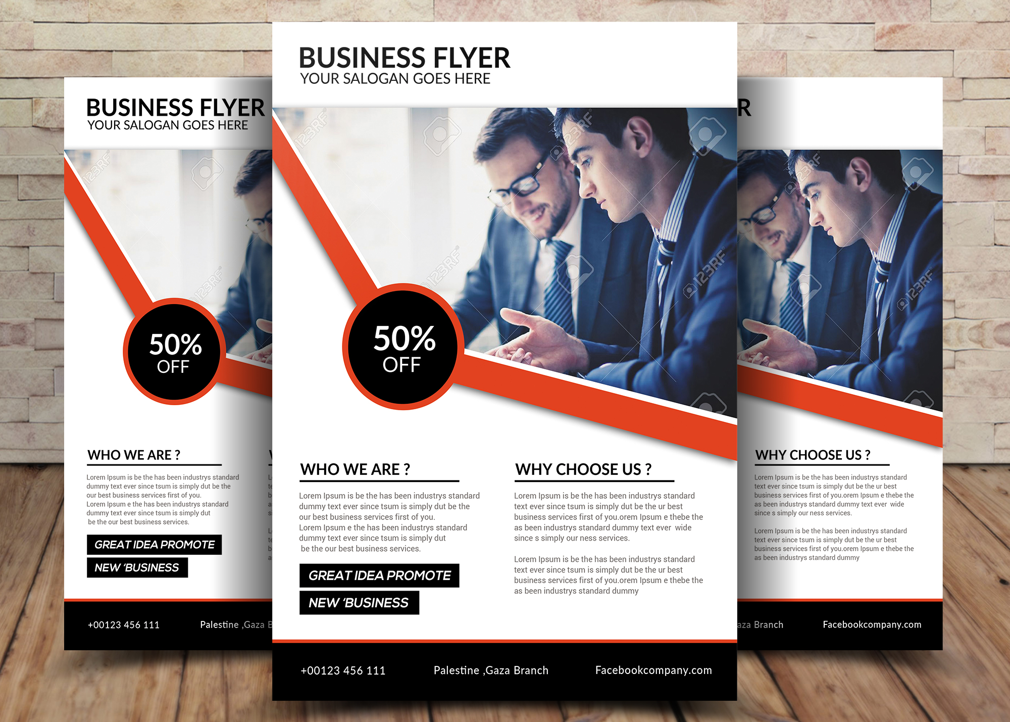 Business Flyer example image 1