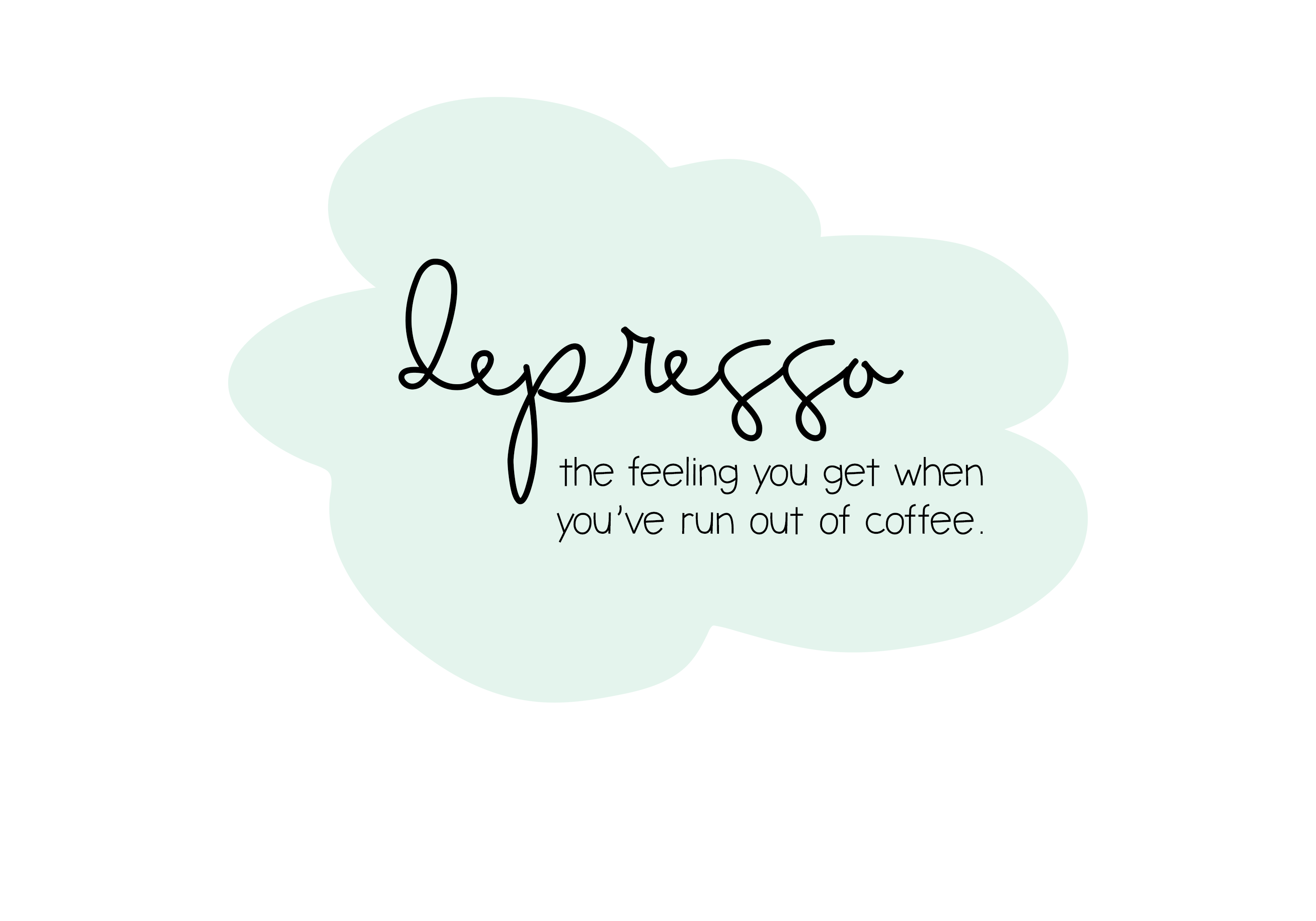 Iced Coffee - A Handwritten Font example image 3