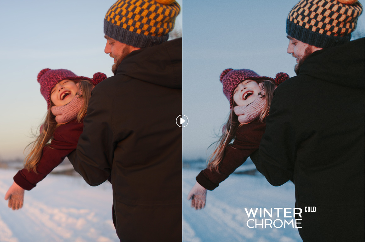 WinterChrome Lightroom Presets example image 8