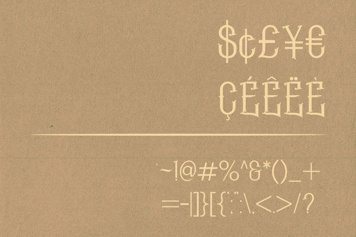 Geroboktuo Typeface example image 5