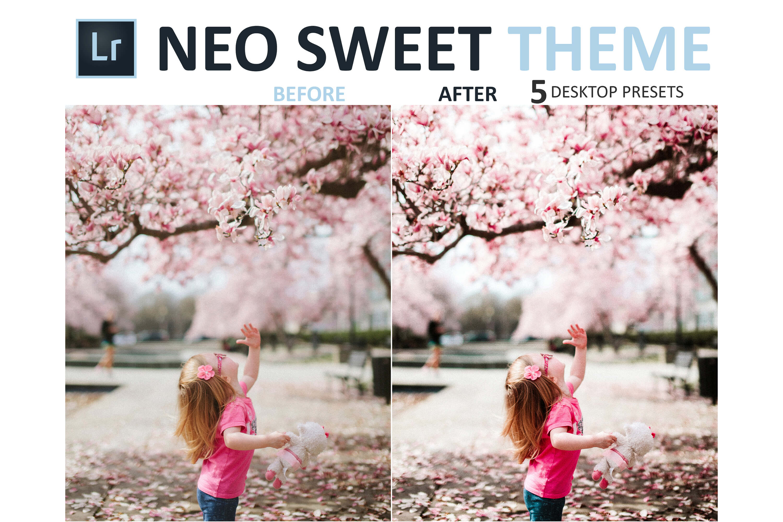 Neo Sweet Theme Desktop Lightroom Presets example image 9