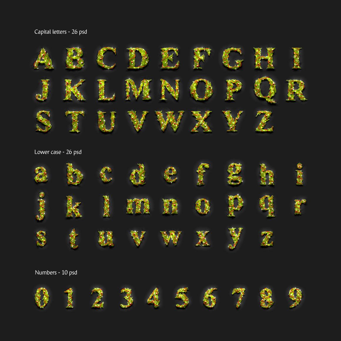 Christmas Animated Typeface example image 3
