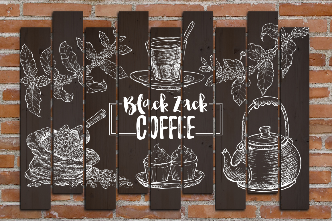Watercolor Coffee (promo 50%) example image 7