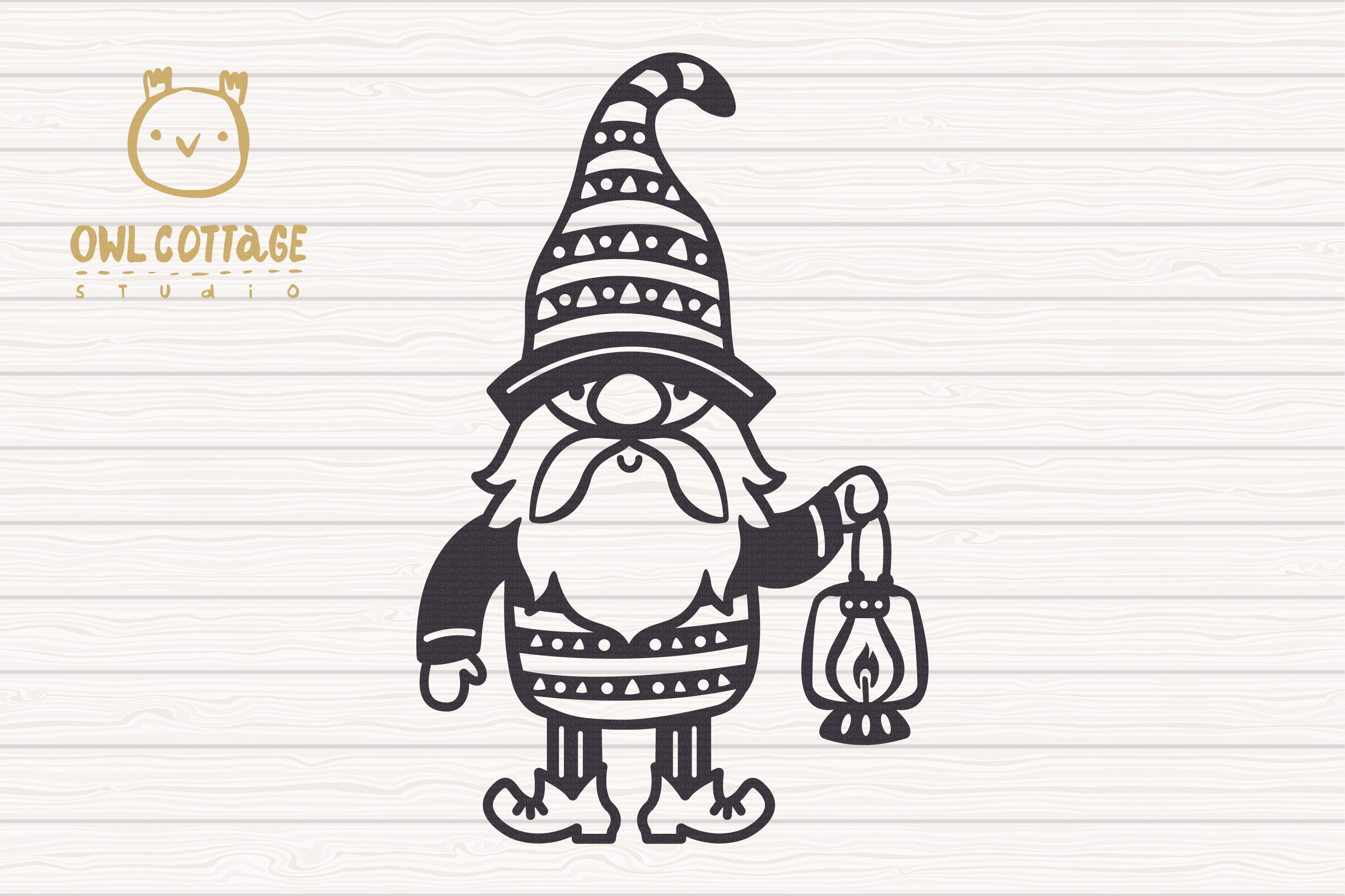 Scandinavian Gnomes SVG, Gnome Clipart, Tomte example image 4