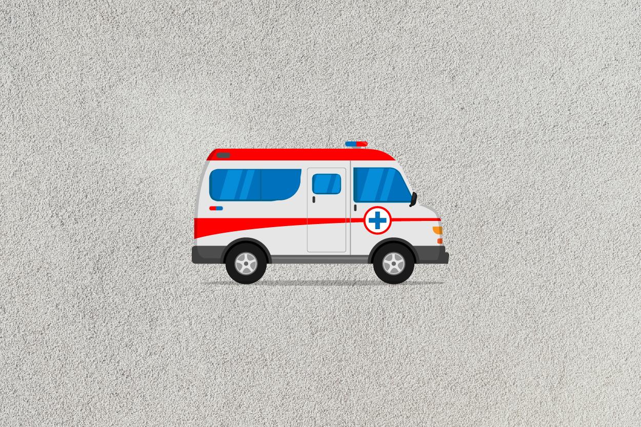 ambulance car icon example image 6