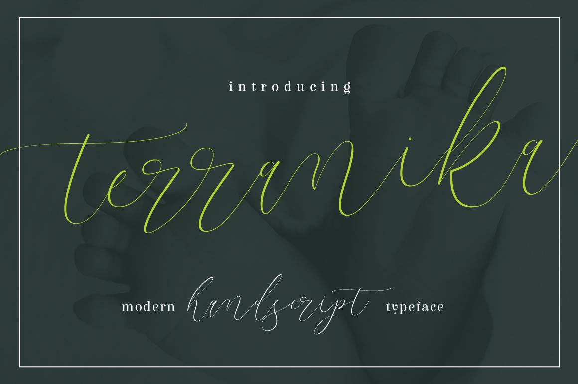 Terranika Typeface example image 1