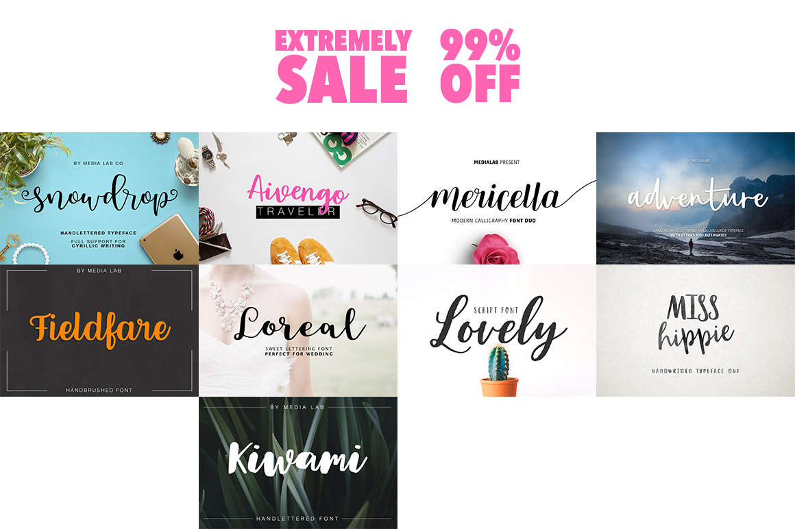 109 in 1 BEST FONT BUNDLE example image 6