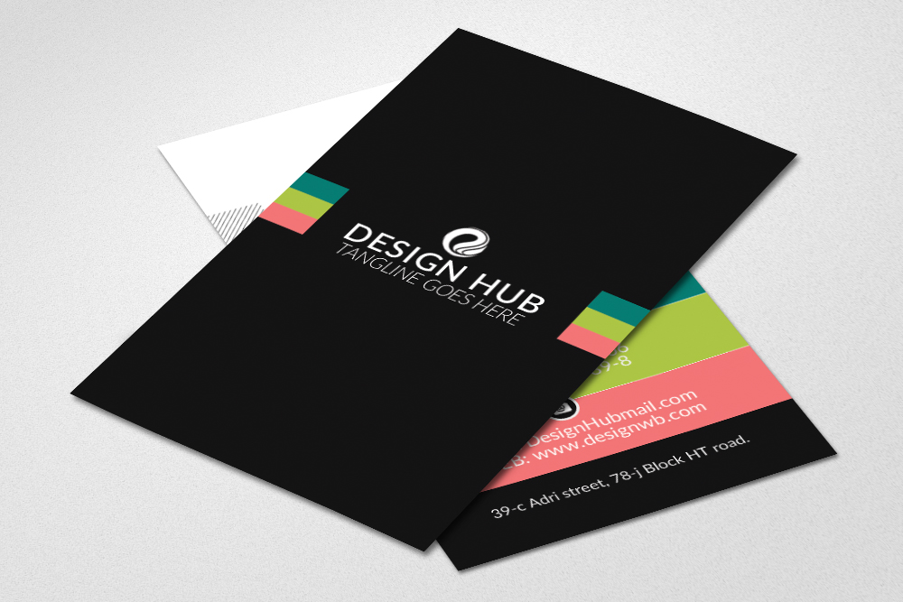 Vertical Business Visitig Cards example image 2