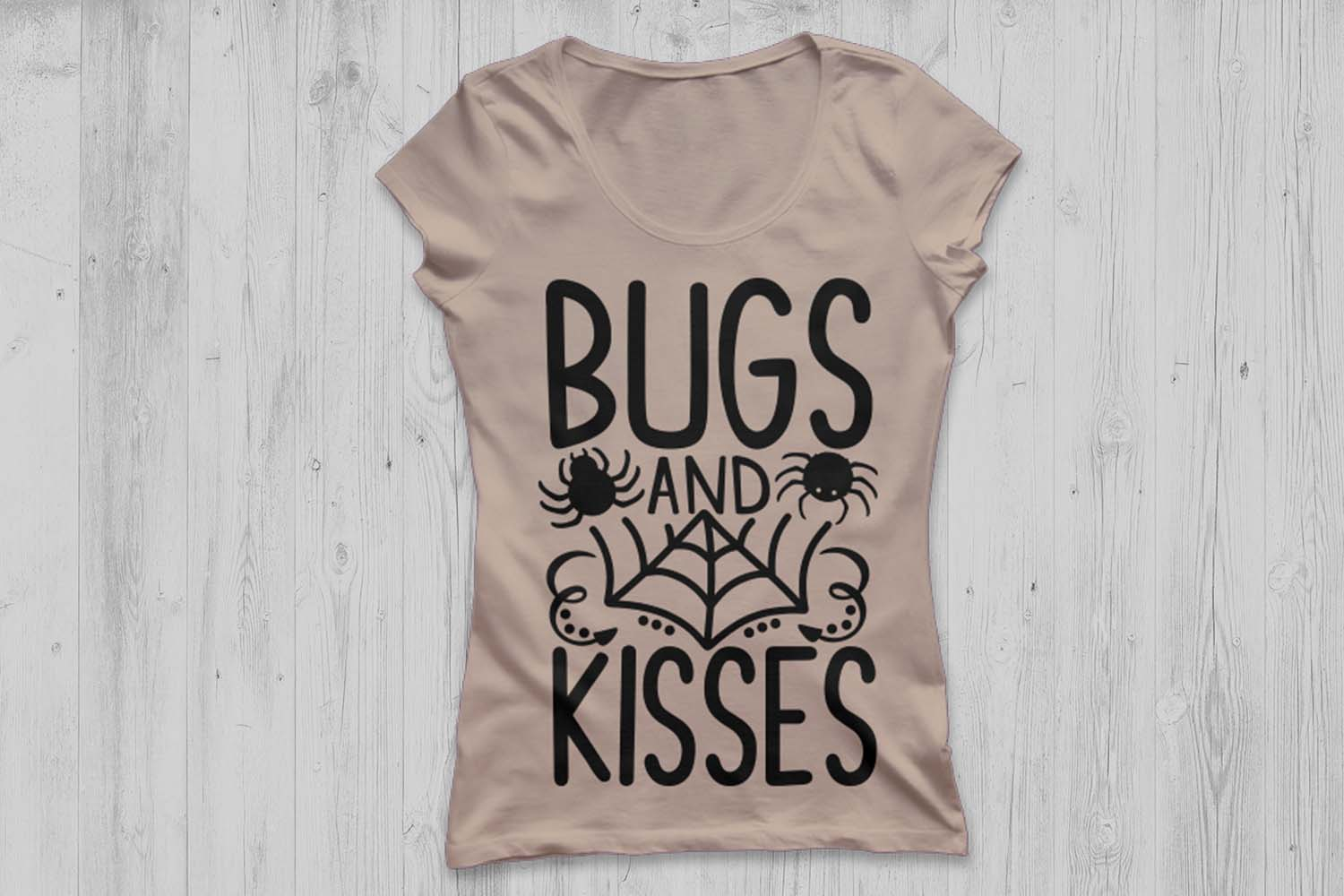 Bugs And Kisses Svg, Halloween Svg, Spider Svg, Spooky Svg. example image 2