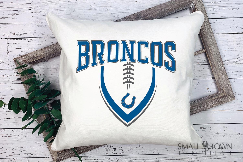 Bronco, Broncos Football, Team, Sport, PRINT, CUT & DESIGN example image 3
