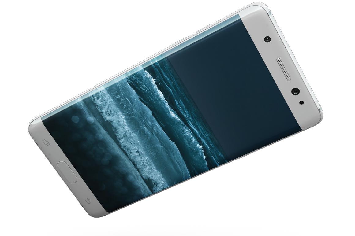 Samsung Galaxy Note 7 Gravity Mockup example image 5