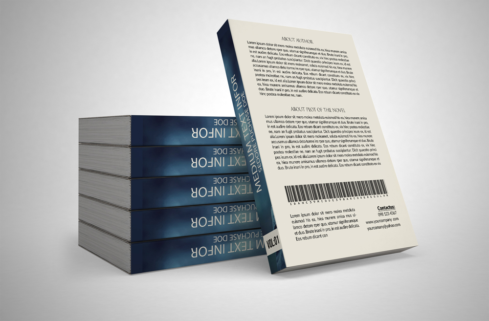 Novel Book Cover Template example image 2