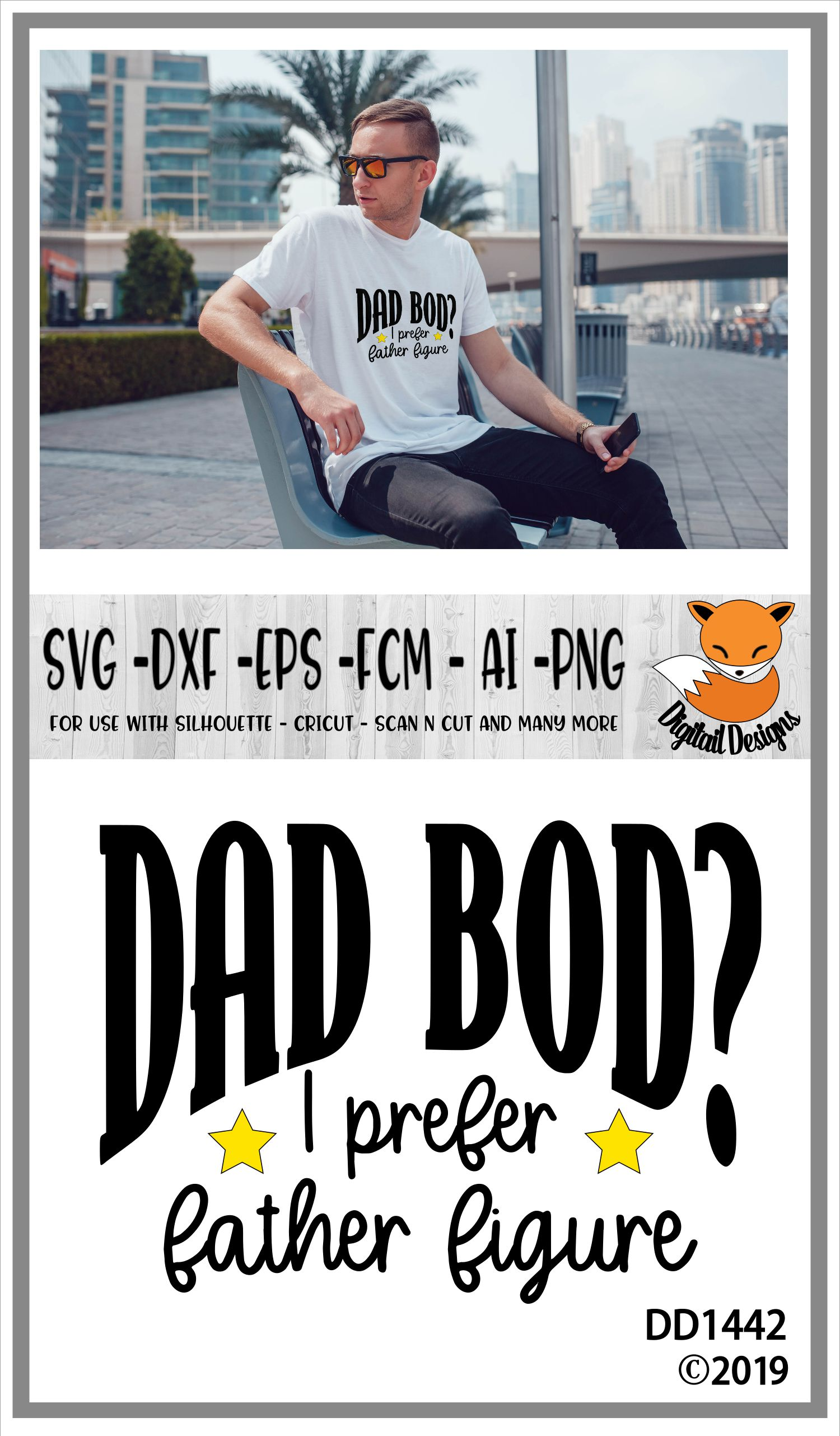 Dad Bod SVG example image 2