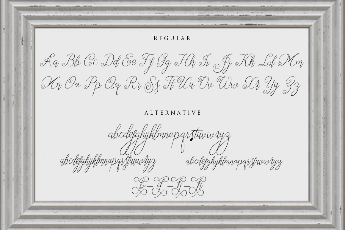 Segitha Script example image 4