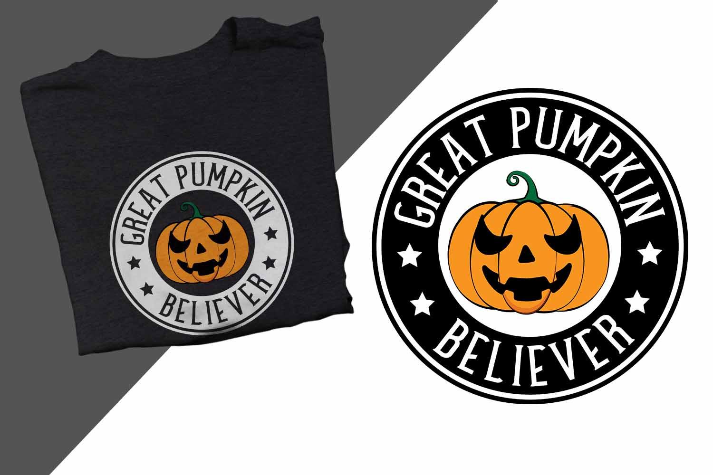 Great Pumpkin Believer Halloween Printable example image 1